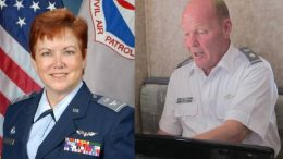 Col Tonya Boylan, Lt Col Brett Slagle