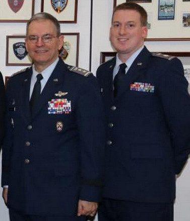 CAP Maj Gen Joe Vazquez, CAP Lt Col Will Stranahan