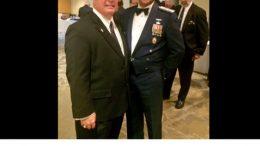 Senator Joe Uecker and Maj Gen Charles L. Carr