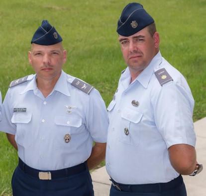 CAP Col Henry Irizarry, CAP Lt Col Kevin McSparron