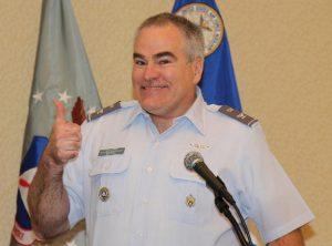 CAP Col Tom Kettell, Rocky Mountain Region Commander
