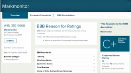 MarkMonitor Inc owns glassdoor.com and is not accredited by the Better Business Bureau.