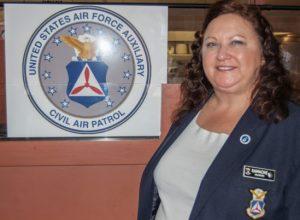 CAP Col Celeste Gamache, Colorado Wing Commander