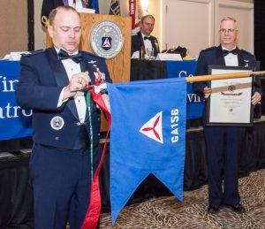 CAP Col Richard Greenwood, CAP Maj Gen Joe Vazquez, CAP Col Barry Melton