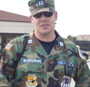 CAP Lt Col Kevin McSparron