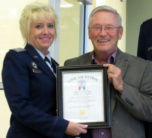 CAP Col Rose Hunt & Senator Terry Moulton