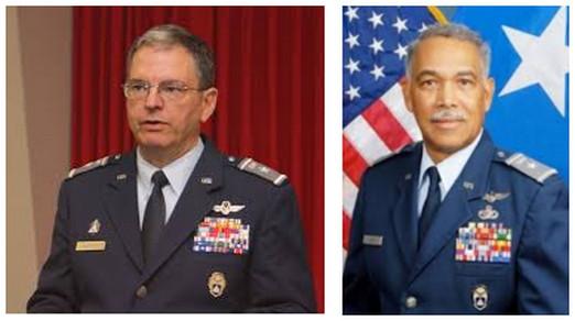CAP Maj Gen Joe Vazquez, CAP Maj Gen Charles Carr