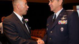 CAP Col Jayson Altieri, BoG Vice Chair; CAP Maj Gen Mark Smith, National Commander