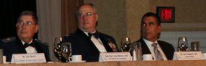 CAP Brig Gen Larry Myrick, CAP Col Larry Ragland, CAP Col Rafael Robles