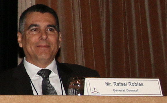 CAP Col Rafael Robles, General Counsel