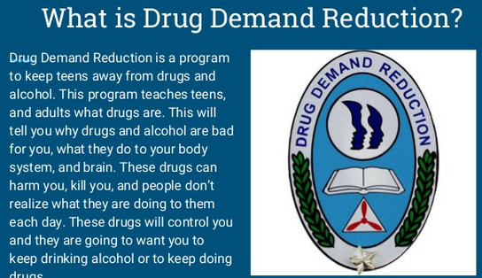Drug Demand Reduction