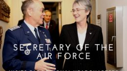 CAP Maj Gen Mark Smith, Secretary of USAF Heather Wilson