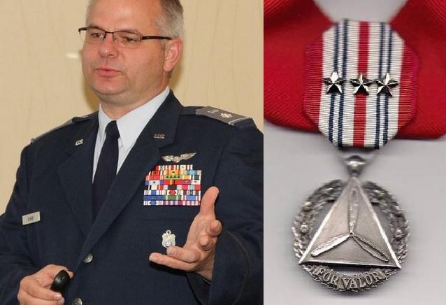 Lt Col James Shaw to start Civil Air Patrol Medal of Valor Association