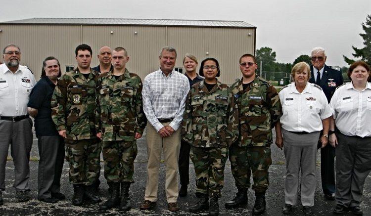 Civil Air Patrol lobbies to induct Wisconsin State Assemblyman Joel Kitchens into Civil Air Patrol.
