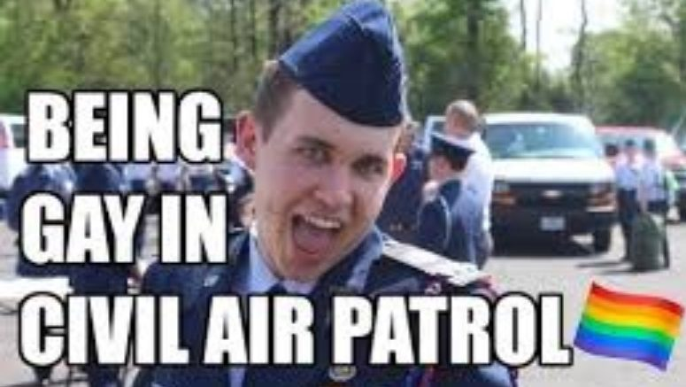 Recent YouTube video and custom thumbnail image takes Civil Air Patrol onward and outward.