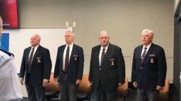 Richard L. Bowling, Barry Melton, Roger Middleton, Al Van Lengen, Civil Air Patrol