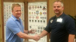 Col Eric Boe with CAP Lt Col Jim Shaw