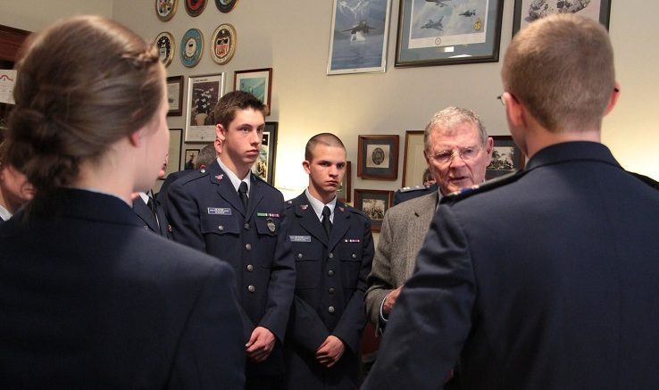Oklahoma Senator Jim Inhofe is a fading asset of Civil Air Patrol