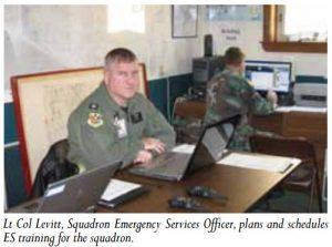 Civil Air Patrol's Lt Col Richard J. Levitt, 2012