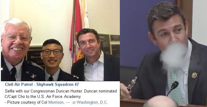 Civil Air Patrol advocate Duncan Hunter