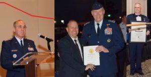 Maj Gen Mark Smith, Col Richard Greenwood and Col Barry Melton