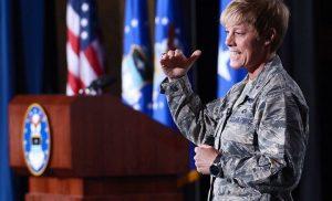 """Brig. Gen. Kristin """"Duchess"""" Goodwin"""