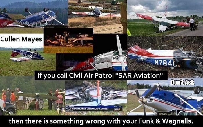 Civil Air Patrol crashes