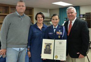 Civil Air Patrol's Sen Mike Folmer
