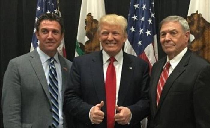 Hunter Double Teams Trump