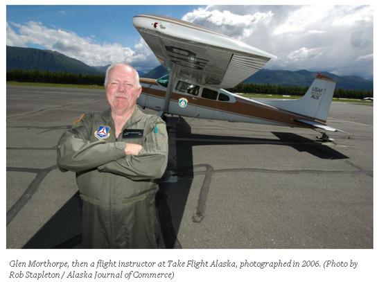 Civil Air Patrol's Glen Morthorpe