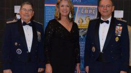 CAP Brig Gen Larry Myrick, Deborah Lee James, CAP Maj Gen Joseph Vazquez