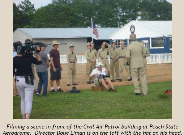 Civil Air Patrol featured in the original footage of American Made