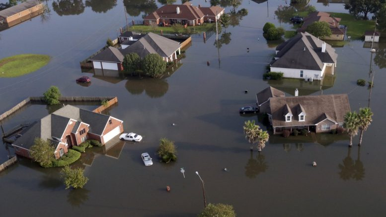 Associated Press photo of Harvey Flooding Port Arthur, TX