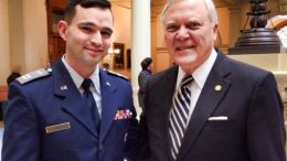CAP Capt Kristian Ward, Georgia Governor Nathan Deal