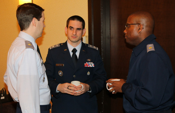 Maj Jacob Gerstein, Col Frank Blazich, Maj Bryan Pettigrew