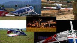 Civil Air Patrol Pilots Ground Loop in Media Maneuvers
