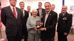 Chris Collins and the CAP Congressional Gold Medal