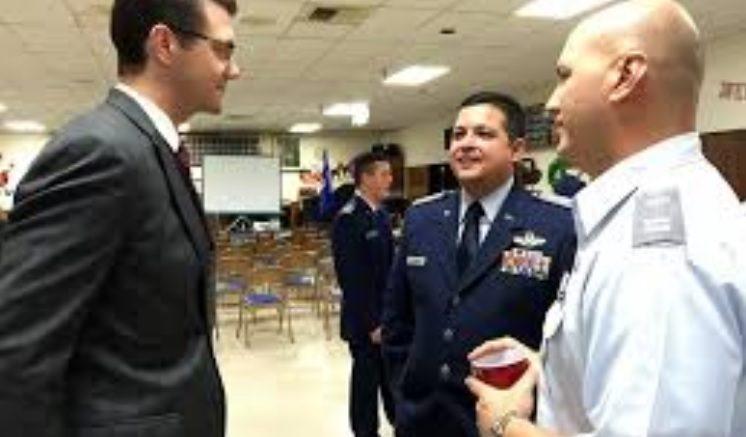 Washington Senator Joe Fain Civil Air Patrol