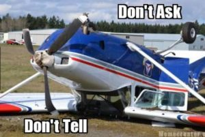 Civil Air Patrol Crash Policy Don't Ask Don't Tell