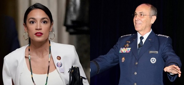 Do tough questions from the likes of Alexandria Ocasio-Cortez irk Civil Air Patrol supporters?