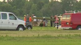 Civil Air Patrol Van oversees the crash of N291CP at D52, Geneseo New York