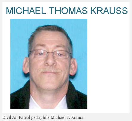 Civil Air Patrol pedophile Michael T. Krauss