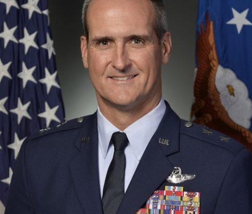 Maj. Gen. Peter Gersten, another horn dog pilot from the US Air Force Academy