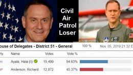 Civil Air Patrol's Rich Anderson is now a two-timer loser.